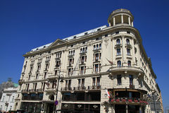 Hotel Bristol in Warsaw Stock Photo