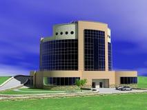 Hotel building stock illustration