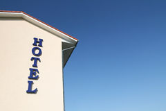 Hotel building Royalty Free Stock Photo