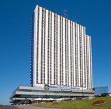 Hotel building Stock Photography