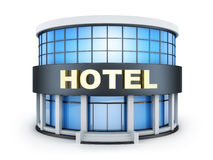 Hotel building small Stock Photos