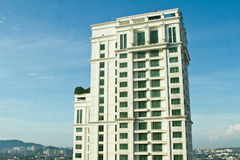 Hotel Building. Tall building in the city royalty free stock photo