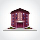 Hotel building  vector illustration Stock Photo