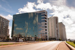 Hotel Buildings Complex of Brasilia Stock Photos
