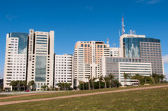 Hotel Buildings Complex of Brasilia Stock Photography