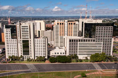 Hotel Buildings Complex of Brasilia Royalty Free Stock Photo