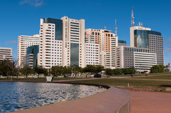 Hotel Buildings Complex of Brasilia Royalty Free Stock Image