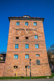 Hotel Bulwar on Vistula river bank Royalty Free Stock Photo