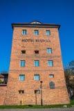 Hotel Bulwar on Vistula river bank Royalty Free Stock Photo