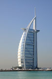 Hotel Burj Al Arab in Dubai Stock Photo