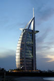 Hotel Burj Al Arab in Dubai Royalty Free Stock Images