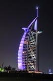 Hotel Burj Al Arab, Dubai stock photography