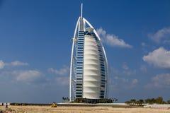 Hotel Burj al Arab in Dubai Stock Image