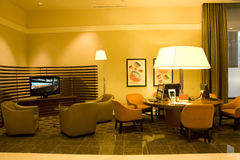 Hotel business center. A comfortable small business center in a hotel Stock Photo