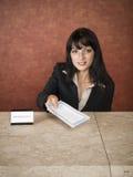 Hotel - business travelers Stock Photos