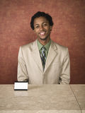 Hotel - business travelers Stock Image
