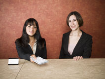 Hotel - business travelers Stock Photography
