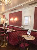 Hotel and cafe sacher Stock Photography