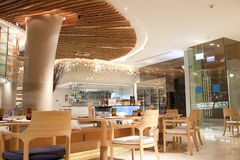 Hotel cafeteria at Phuket, Thailand Stock Image