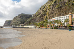 Hotel in Calheta stock images