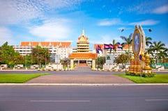 Hotel Cambodiana,  Phnom Penh, Cambodia. Stock Photos