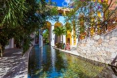 Hotel at Cancun. Mexico Royalty Free Stock Photos