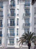 Hotel in Cannes Stock Photography