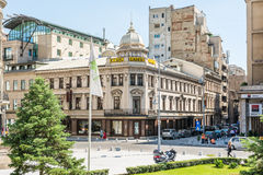 Hotel Capsa On Victory Avenue Stock Photography