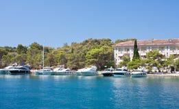 The hotel' Carmen, Briony. Croatia Stock Images