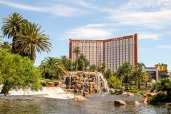 Hotel & casino da ilha do tesouro na tira de Las Vegas Imagem de Stock