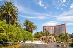 Hotel & casino da ilha do tesouro na tira de Las Vegas Fotografia de Stock Royalty Free
