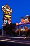 Hotel-Casino de Sahara na tira de Las Vegas foto de stock royalty free