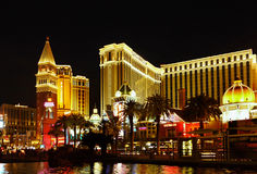 Hotel Casino Venetian Resort, Las Vegas Royalty Free Stock Images