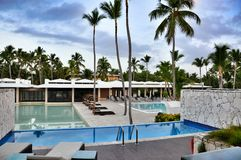 Hotel Catalonia Royal Bavaro. Stock Photos