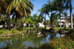Hotel Catalonia Royal. Dominican Republic. Punta Cana Stock Photo