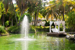 Hotel Catalonia Royal. Dominican Republic. Royalty Free Stock Images
