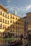 Hotel Cavalletto in Venetië, Italië, 2016 Stock Afbeelding