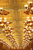 The hotel ceiling Royalty Free Stock Images