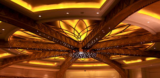 Hotel ceiling Stock Images