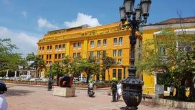 Hotel Charleston Santa Teresa: Cartagine, Colombia Fotografia Stock Libera da Diritti