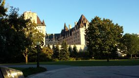 Hotel Chateau Laurier Ottawa Royalty Free Stock Photography