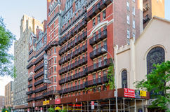 Hotel Chelsea, New York City royalty free stock photography