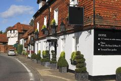 Hotel at Chiddingfold. Surrey. UK Stock Photography