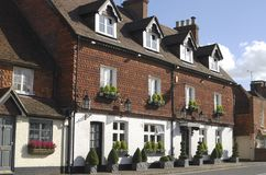 Hotel at Chiddingfold. Surrey. UK Royalty Free Stock Photos
