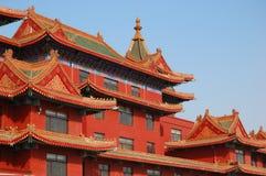 Hotel chino Imágenes de archivo libres de regalías