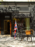 Hotel Chocolat-- Newbury St. Boston, MA. Royalty Free Stock Photo