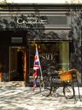 Hotel Chocolat-- Newbury Str. Boston, MA. lizenzfreies stockfoto