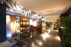 Hotel cinese Fotografia Stock Libera da Diritti
