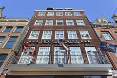 Hotel Citadel, Amsterdam center Royalty Free Stock Photography