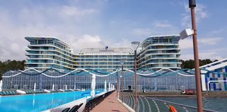 Paragraph Resort & Spa Shekvetili, Autograph Collection Royalty Free Stock Images
